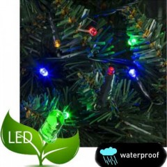 240 Λαμπάκια LED με πρόγραμμα και επέκταση πράσινο καλώδιο πολύχρωμο φως