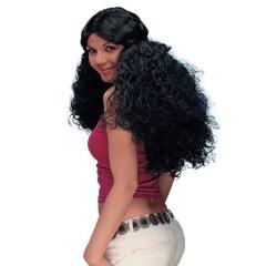 Περούκα Princess μακριά σγουρή με πιάσιμο σε 2 χρώματα