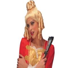 Περούκα εποχής Μαντάμ Πομπαντούρ σε τρία χρώματα