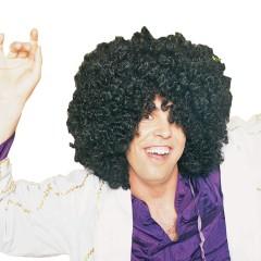 Περούκα Disco μαύρη σγουρή unisex