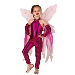 Στολή νεράϊδα ροζ Pink wings