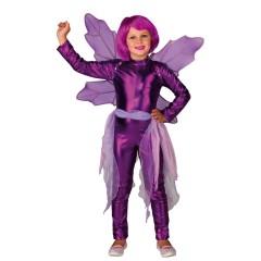 Στολή νεράϊδα μωβ Purple wings