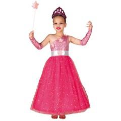 Στολή μυστική πριγκίπισσα ροζ