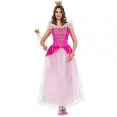 Στολή ροζ πριγκίπισσα για ενήλικες