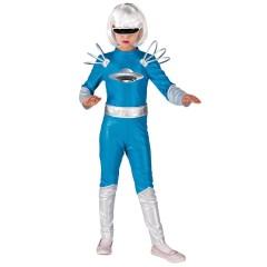 Στολή Galactica εξωγήινος κορίτσι μπλε