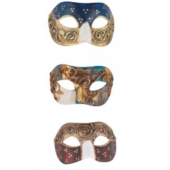 Μάσκα ματιών Βενετίας Paper Mache 3 σχέδια
