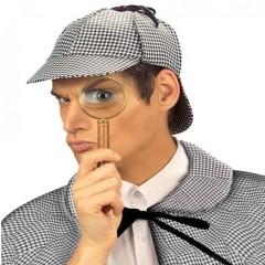 Καπέλο ντετέκτιβ Σέρλοκ γκρι