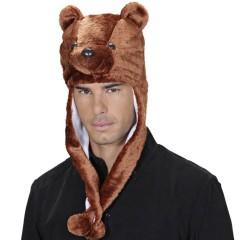 Καπέλο Αρκουδάκι Λούτρινο