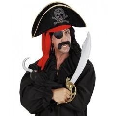 Καπέλο Πειρατή Με Σήμα Νεκροκεφαλή