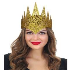 Τιάρα βασίλισσας Eva χρυσή