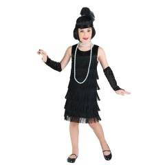 Τσάρλεστον Elegant Flapper στολή για κορίτσια