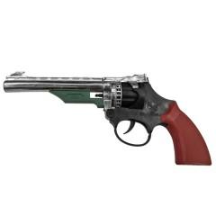 Πιστόλι 8σφαιρο ασημί με μαύρο