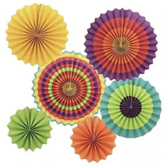 Διακοσμητικοί Χάρτινοι Κύκλοι σετ 6 τεμάχια