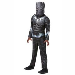 Στολή Black Panther Deluxe Μαύρος Πάνθηρας