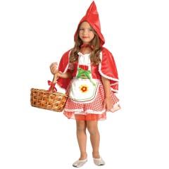 Στολή Κοκκινοσκουφίτσα Φόρεμα