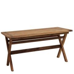 Τραπέζι 240x100εκ Colonian από ξύλο Teak αντικέ