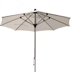 Ομπρέλα 2.5m αλουμινίου Milano λευκή