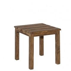Τραπέζι βοηθητικό 44x44 οξιάς Santos σε δύο χρώματα