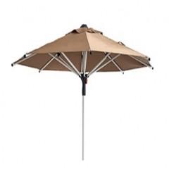 Ομπρέλα 2,1m αλουμινίου Smart 8alu καπουτσίνο