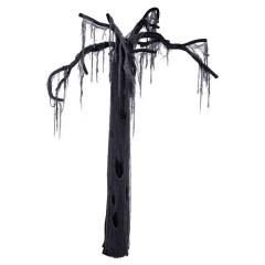 Διακοσμητικό τρόμου μαύρο δέντρο 195cm