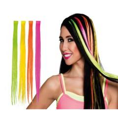 Extension μαλλιών σε 4 χρώματα neon