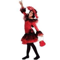 Χορός Φλαμένγκο στολή Κάρμεν για κορίτσια
