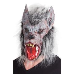 Μάσκα λάτεξ λύκος δαίμονας