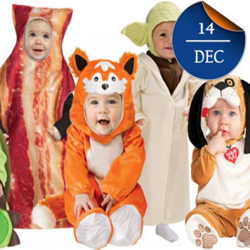 Οι δέκα καλύτερες αποκριάτικες στολές για μωράκια