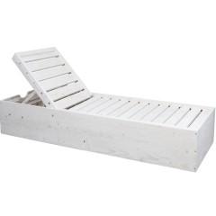 Ξαπλώστρα ξύλινη 254 σταθερή από πεύκο