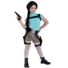 Lara η ριψοκίνδυνη αρχαιολόγος στολή για κορίτσια