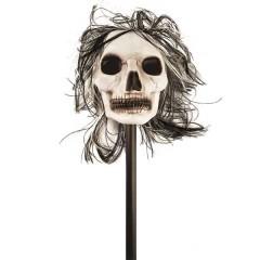 Κοντάρι 1m με Σκελετό και Μαλλιά