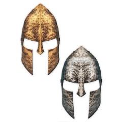 Περικεφαλαία μάσκα Αρχαίου Έλληνα Πολεμιστή