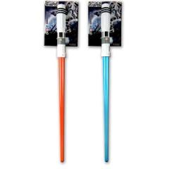 Σπαθί διαστήματος με φως και ήχο σε δύο χρώματα