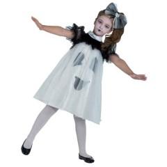 Φαντασματάκι στολή φόρεμα για κορίτσια