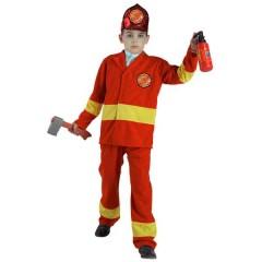 Πυροσβέστης αποκριάτικη στολή για αγόρια