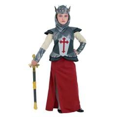 Jean D Arc αποκριάτικη στολή εποχής για κορίτσια