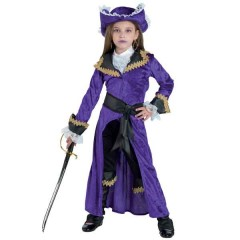 Captain Morgan αποκριάτικη στολή πειρατίνας για κορίτσια