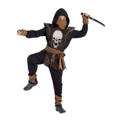 Mortal terror Kombat στολή νίντζα για αγόρια nightwoolf