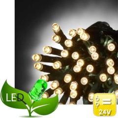 240 Λαμπάκια Led Πρόγραμμα 31V Εξωτερικού χώρου Πράσινο καλώδιο Θερμό soft  φως
