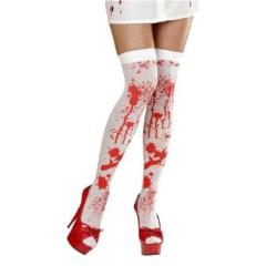 Κάλτσες με αίματα αποκριάτικο αξεσουάρ