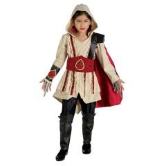 Assasin στολή για κορίτσια κόκκινη Assassin's Creed