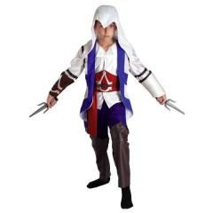 Assasino Μπλε στολή για αγόρια Assassin's Creed