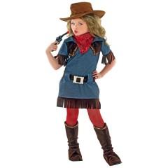 Cow Girl στολή για κορίτσια θρύλος στην Άγρια Δύση