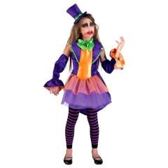 Crime Princess στολή για κορίτσια με Το χαμόγελο του  joker