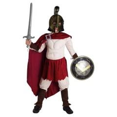 Λεωνίδας στολή για αγόρια ο γενναίος Βασιλιάς της Σπάρτης