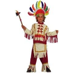Μικρός Ινδιάνος Σιού στολή για μικρά αγόρια με θέμα την άγρια Δύση