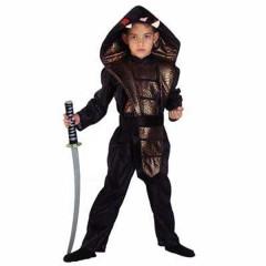 Ninja Κόμπρα για αγόρια με μαύρη ζώνη