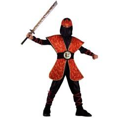 Ninja Master Της Φωτιάς στολή για αγόρια
