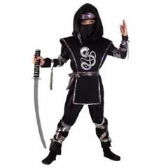 Ninja Δράκος στολή για αγόρια με κουκούλα