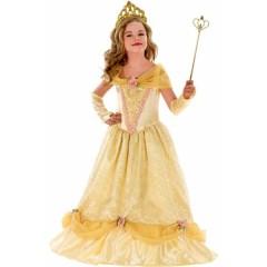 Πεντάμορφη Πριγκίπισσα στολή με μακρύ φόρεμα για κορίτσια